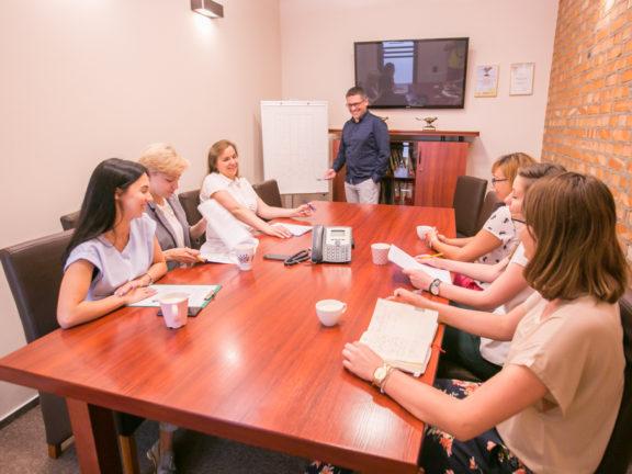 Zebrania, zebrania, zebrania i ankieta oceny naszej pracy